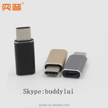 USB C to Micro USB 8V Female Adapter for Oneplus two 2 X mobile adapter with charging Sync function