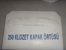 1/2 fold Eco-friendly flushable toilet seat cover paper
