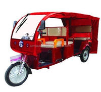 500W-1200W three wheel closed cheap Electric Tricycle Electric Trike for cargo for passenger in china