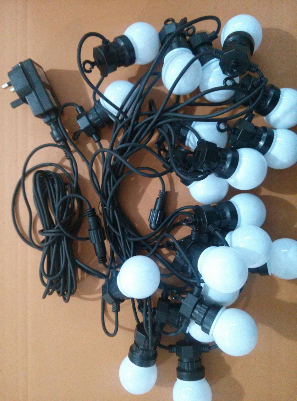 24v led belt light for g50 led bulbs led garland string. Black Bedroom Furniture Sets. Home Design Ideas