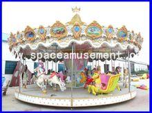 el espacio de atracciones de bajo precio de carrusel de niños para la venta y el carrusel de caballos