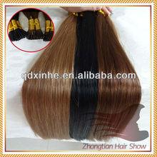 Indian Remy O.5g/strand 100 keratin tip human hair extension