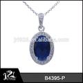 jóia indiana traje nupcial colar azul de cristal conjunto de jóias
