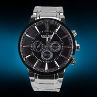 Newest promotional curren brand wristwatch for men