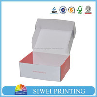 Custom Color printed E Flute Corrugated Box