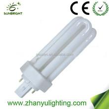 High efficiency PLC 3u energy saving lamp bulb cfl 13w 8000h made in China