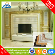 With natural marble effectColor uniformity plastic interior wall decorative panel lowes