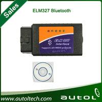 Elm327 Bluetooth OBDII Professional Diagnostic Tool OBD2 ELM327 Bluetooth Car Diagnostic Scanner with DHL fast shipping