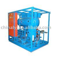 Refrigeration fluids treatment plants