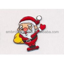 Christmas ornaments with names embroidery christmas patch