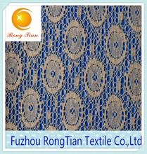 100 cotton fashion water soluble lace fabric used in home textile fabrics