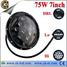 7 inch high illumination best quality wrangler jeep led headlight