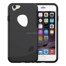 Dual-layer TPU Rubber Protective Carrying Cover Case for iPhone 6 ,slicoo case factory