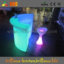 New design nightclub,bar&club furniture/glowing bar table/led bar counter