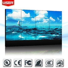 LED backlight split screen video wall for excellent display