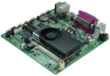 Mini Itx industrial motherboard Intel 1037U /DC 12V /Dual 24bit LVDS Motherboards POS Machine industrial Mini ITX SDM18_D2