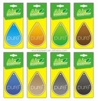 cotton paper air fresheners for car with new designs and many styles