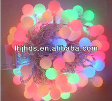 holiday decorate light of round ball