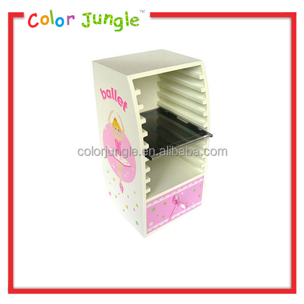 2015 New Design Horizontal Cd Rack High Quality Wooden Cd