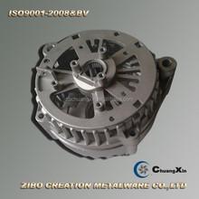 die cast aluminum cnc auto parts generator shell
