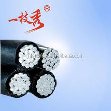 Cables duplex, triplex, quadruplex aluminum, calibers 1/0, 2/0, 3/0 and 4/0 For the neutral core: Bare AAAC ,AAC with PE