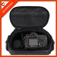 Godspeed Black Medium SLR Camera Pouch Case/Bag with Strap for Canon EOS