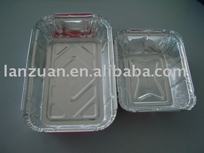 アルミホイルの食糧皿