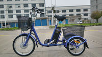 three wheel electric motor bike electric cargo bike for shopping