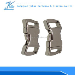 13mm curved side release metal dog collar buckle,dog collar buckle wholesale