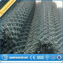 diamond shaped playground chain link fence/pvc coated chain link fencing