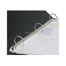 Classic A4 hard cover file folder metal 3 ring binder mechanism