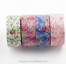 2015 water activated kraft paper tape , decorative washi paper tape with good quality