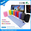 109 Keys Colorful Eco-friendly Flexible Silicon Wired Keyboard