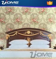 Emboss 3D Effect Wallpaper heat proof Interior Innovations bedroom Wallpaper