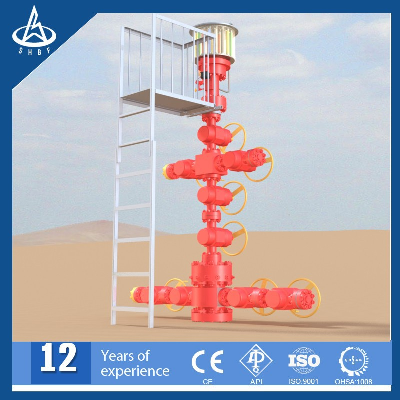 Oil And Gas Christmas Tree For Wellhead Production Equipment - Buy Oil And Gas Christmas Tree ...