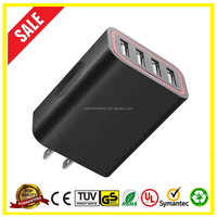Home Travel Charger EU US Plug Quick Charge 2.0 for iPad iPhone Desktop