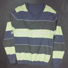 Europeo de la moda de invierno de los hombres de rayas suéters knitwears para los hombres s- xxxxl el servicio del oem