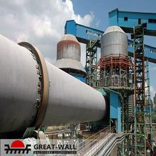 Long using life large scale lime/cement rotary kiln