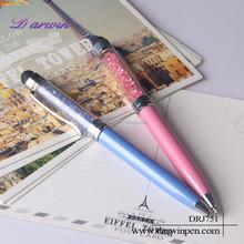 Crystalline 2-in-1 Capacitive Mini Stylus Pen For Smartphone