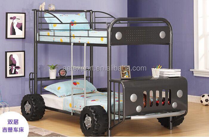 el ltimo diseo nios litera patrulla jeep litera moderna muebles de dormitorio nios