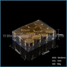 10ml mini glass test essential/olive oil bottle for wholesale