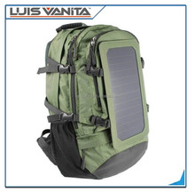 Solar Backpack with Battery Portable Bag