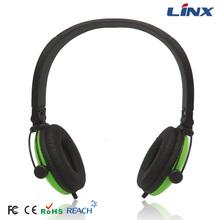 Factory supply mp3 player headphone bulk fancy headphones