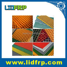 long life service frp pultruded grating for wall, walkway /FRP grille 50mm*50mm*thickness 15mm