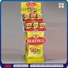 TSD-C480 Promotion retail store free standing food cardboard display shelf,cardboard spice display,snack cardboard display stand