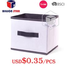 Non woven foldable storage box
