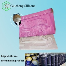 liquid silicone rubber for lost wax casting to reproduce sculpture
