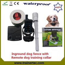 Trainertec invisible dog fence DF-113R with 2 years warranty