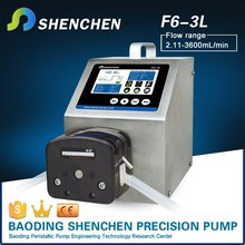 Dispensing pump for filter for culture media