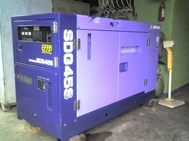 Generador diesel 45kva ( sdg45s aviador )